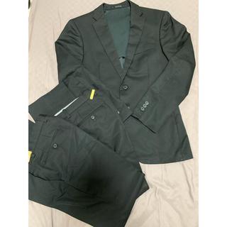 アオヤマ(青山)のスーツセット ツーパンツ 黒 メンズ(セットアップ)