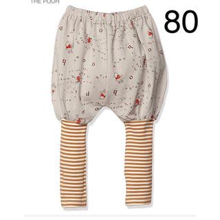 ディズニー(Disney)の新品 ディズニー くまのプーさん バルーンパンツ ズボン ボトムス ベビー 80(パンツ)