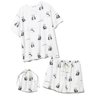 gelato pique - ジェラートピケ パンダTシャツ&ショートパンツ&巾着SET