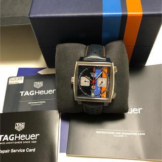 タグホイヤー(TAG Heuer)の定価75万 新作タグホイヤー モナコ キャリバー11 ガルフ(腕時計(アナログ))