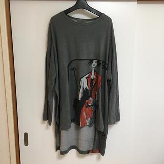 ヨウジヤマモト(Yohji Yamamoto)のYohjiyamamoto POUR HOMME 17ss 長袖カットソー(Tシャツ/カットソー(七分/長袖))