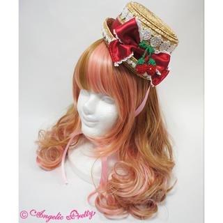 アンジェリックプリティー(Angelic Pretty)の♡レア♡AngelicPretty Berry garden ストローハット(麦わら帽子/ストローハット)