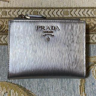 PRADA - 確実正規品☆プラダ二つ折り財布