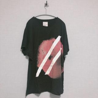 SHAREEF - シャリーフ リンゴ big tシャツ