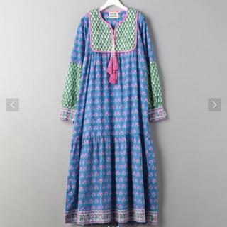 ロンハーマン(Ron Herman)の新品 SZ block prints jodhpur dress(ロングワンピース/マキシワンピース)