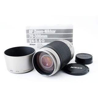ニコン(Nikon)の☆使いやすくて定番の『超望遠レンズ♪』☆ NIKKOR ニコン 70-300mm(レンズ(ズーム))