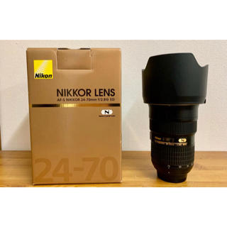 ニコン(Nikon)の美品 NIKON AF-S NIKKOR 24-70mm f/2.8G ED(レンズ(ズーム))