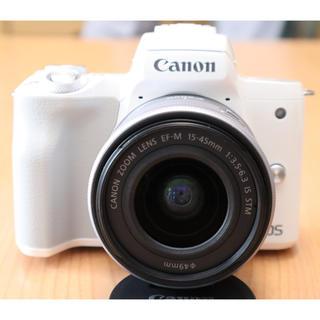 Canon - Canon EOS Kiss M ズームレンズキット