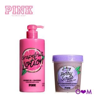 Victoria's Secret - ヴィクトリアシークレットPINK ボディローション・スクラブセット