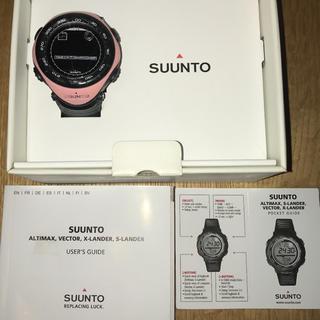 スント(SUUNTO)のSUUNTO VECTOR PINK スントベクター ピンク 希少 生産終了(腕時計(デジタル))