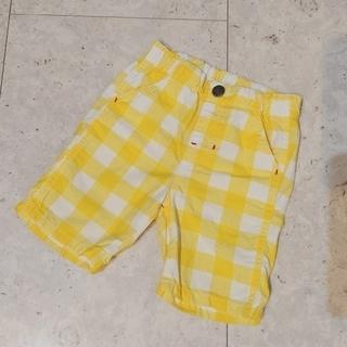 JUNK STORE - ジャンクストアー/JUNK STORE 黄色のチェックのハーフパンツ/短パン