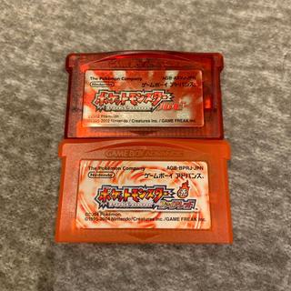 ゲームボーイアドバンス(ゲームボーイアドバンス)のポケットモンスター ルビー/ファイアレッド(携帯用ゲームソフト)