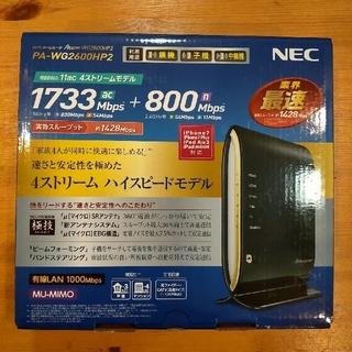 NEC - NEC WiFiルーター Aterm PA-WG2600HP2