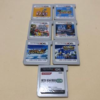 ニンテンドー3DS - 【お買い得】3ds カセット ソフト 7本セット