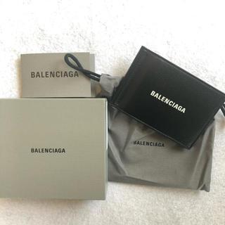 バレンシアガ(Balenciaga)のBALENCIAGA バレンシアガ  マネークリップ ブラック(折り財布)