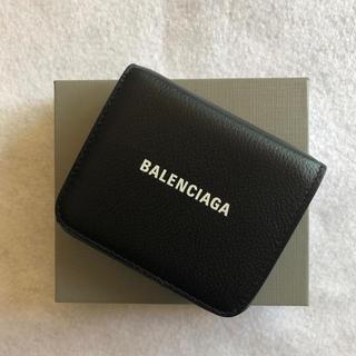 バレンシアガ(Balenciaga)のBALENCIAGA バレンシアガ  折り財布 ブラック 2020ss(折り財布)