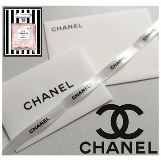 シャネル(CHANEL)のCHANEL 封筒 レター 2種類 2点セット 文具 ラッピング レターセット(カード/レター/ラッピング)