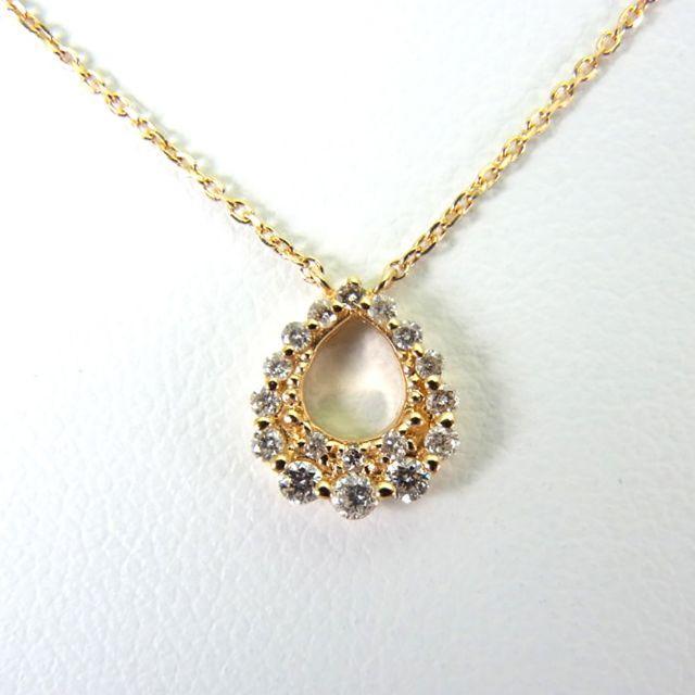 Vendome Aoyama(ヴァンドームアオヤマ)のヴァンドーム K18 ダイヤモンド ペンダント [g228-24]  レディースのアクセサリー(ネックレス)の商品写真