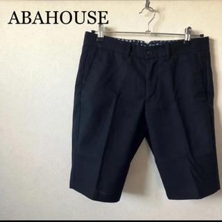 アバハウス(ABAHOUSE)のABAHOUSE   ブラックショートパンツ(ショートパンツ)