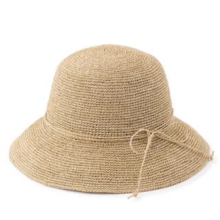 ムジルシリョウヒン(MUJI (無印良品))の無印良品ラフィア キャペリン(麦わら帽子/ストローハット)