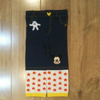 ディズニー(Disney)のディズニーランド レギンス パンツ スパッツ 80 ― 90 男の子 ミッキー(パンツ)