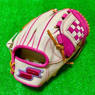 SSK - 新品 台湾SSK限定 母の日モデル 硬式用 内野手用 グローブ クリーム ピンク