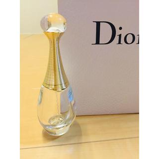 ディオール(Dior)のDior ディオール ジャドール 香水瓶 インテリアに⋆︎* 試供品程度の残量(香水(女性用))