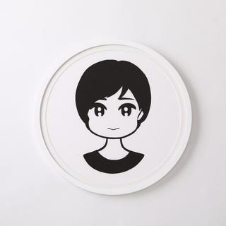 新品 額装済 CONIX KYNE Girl シルクスクリーン 抽選販売当選品 (版画)