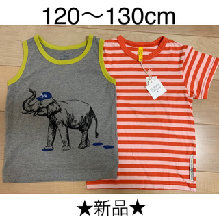 グローバルワーク(GLOBAL WORK)の★新品★ Tシャツ2枚セット【 BOY 】(Tシャツ/カットソー)