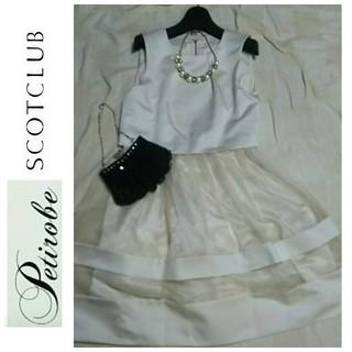 SCOT CLUB - スコットクラブ系列⭐️Petirobe⭐️ワンピース ドレス
