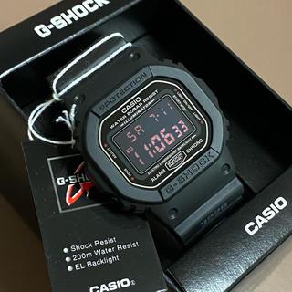 ジーショック(G-SHOCK)の新品 送料無料 G-SHOCK DW-5600MS-1DR レッド アイ(腕時計(デジタル))