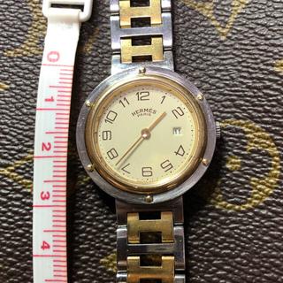 エルメス(Hermes)の【正規品】Hermès クリッパーコンビ ジャンク(腕時計(アナログ))