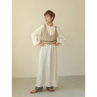 トゥデイフル(TODAYFUL)のEmbroidery Gauze Dress(ロングワンピース/マキシワンピース)