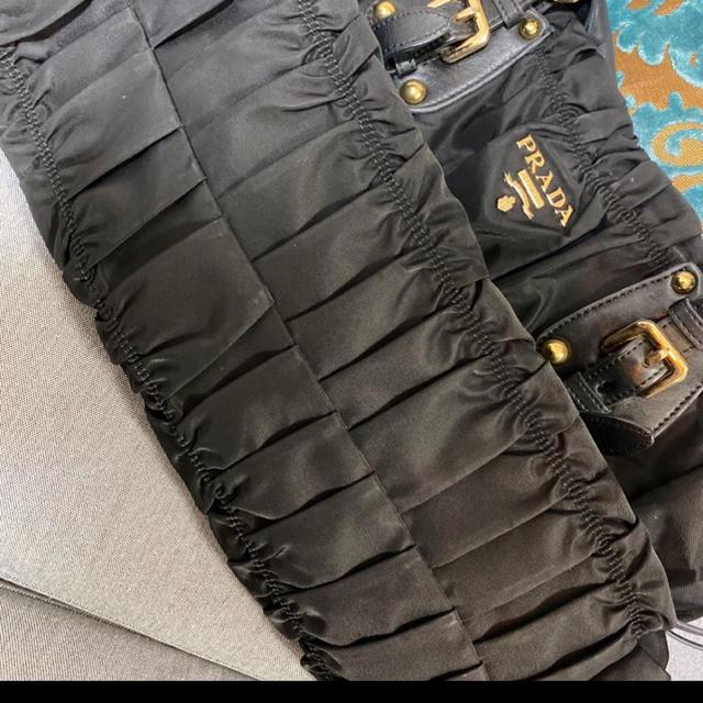 PRADA(プラダ)のプラダ バッグ  ギャザーバッグ トートバッグ レディースのバッグ(トートバッグ)の商品写真