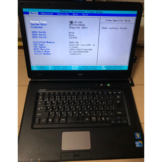 NEC - ジャンクPC NEC VX25MX-B