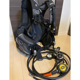 アクアラング(Aqua Lung)のダイビング重器材 BCD レギュレーターセット(マリン/スイミング)
