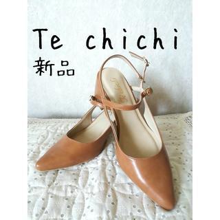 テチチ(Techichi)の♪新品 Te chichi テチチ ストラップパンプス(ハイヒール/パンプス)