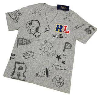 POLO RALPH LAUREN - ボーイズ L/160 新品 ポロベア ワッペン グラフィックTシャツ