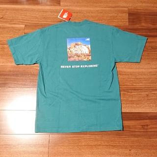 THE NORTH FACE - 新品 northface Tシャツ 半袖 サンプル品 エバーグレード グリーン