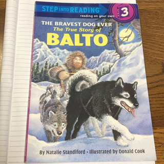 The True Story of Balto(洋書)
