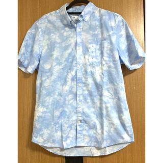GAP - GAP メンズ 半袖シャツ ギャップ スリムフィットシャツ SLIM FIT