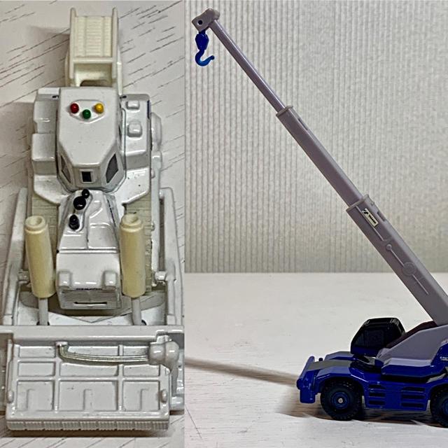 トミカ2台セット エンタメ/ホビーのおもちゃ/ぬいぐるみ(ミニカー)の商品写真