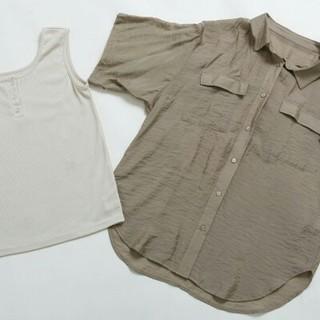 しまむら - しまむらプチプラのあや シアーシャツ