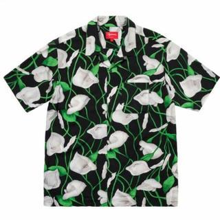 Supreme - 18ss supreme Lily Rayon Shirt Mサイズ
