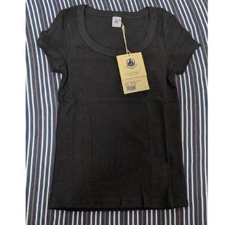 プチバトー(PETIT BATEAU)のPETIT BATEAU黒T2枚セット(Tシャツ(半袖/袖なし))
