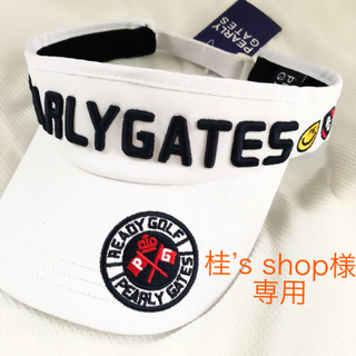 パーリーゲイツ(PEARLY GATES)のパーリーゲイツ バイザー レディース キャップ 帽子 ゴルフ(キャップ)