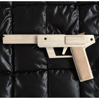 【手作り】木製5連発輪ゴム銃JJ-02(モデルガン)