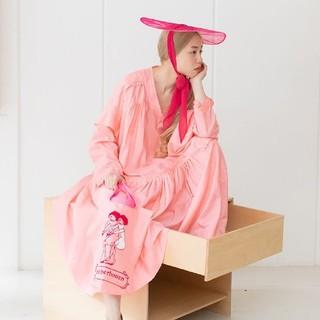 mina perhonen - レアmina perhonen×Lamp harajuku限定シルクトートバッグ