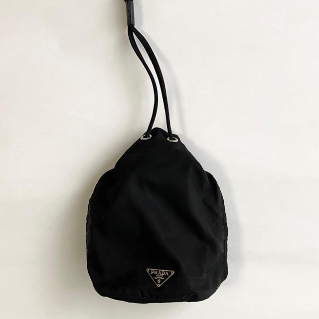 PRADA(プラダ)のPRADA nylon gabardine purse  レディースのバッグ(ハンドバッグ)の商品写真
