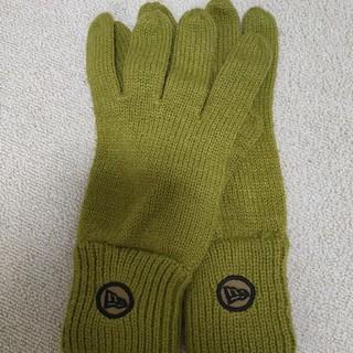ニューエラー(NEW ERA)のニューエラ 手袋 グリーン(手袋)